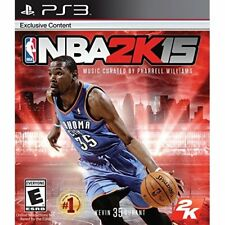 NBA 2K15 For PlayStation 3 PS3 Basketball Very Good 0E