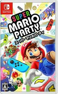 (JAPAN) Nintendo Switch video game Super Mario Party - Switch