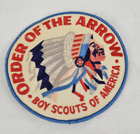 Vintage 80's Boy Scouts Of America Mikanakawa Lodge 101 order Arrow Patch