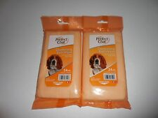 Perfect Coat Deodorizing Bath Wipes Lot Of 2 Packs Of 24 Wipes In Each