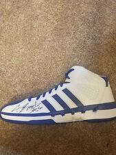 jerry smith signed shoe autographed sneaker team issued auto nets louisville nj