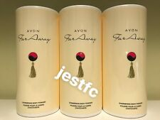 Avon~Far Away Shimmering Body Powder/Talc~x3 Lots