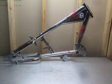 Schwinn OCC Chopper Stingray Bicycle Bike Frame Chrome with Flame Decals