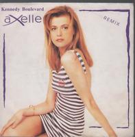 "Axelle Red Kennedy Boulevard 45T 7"" Inch SP 45 Tours pochette papier"