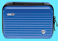 ULTRA PRO GT LUGGAGE DECK BOX BLUE Grand Tour Metallic Card Storage Case mtg