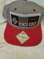 Nintendo Classic Original Snapback Baseball Cap Hat NES Controller