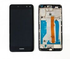 NEW Huawei Y6 2017 Touch Screen Digitizer LCD Display Assembly With Frame Black