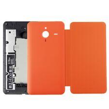 Horizontal Flip Leather Case+Plastic Back Cover for Microsoft Lumia 640XL Orange