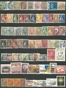 Portugal from 1895 year , nice selection old used stamps