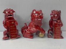 Feng Shui - 2017 Three Lions Remedy for Three Killings