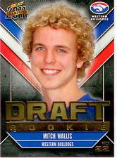 2011 Select AFL Champions Draft Rookie Card DR22: Mitch Wallis (W. Bulldogs)