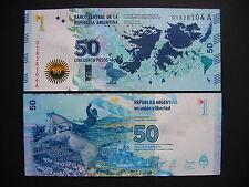 ARGENTINA  50 Pesos  Islas Malvinas  Commemorative Issue 2015  (Pnew)  UNC