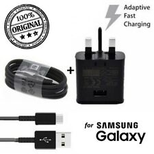 OFFICIAL FAST CHARGER WALL PLUG / TYPE C CHARGING CABLE FOR SAMSUNG GALAXY A40