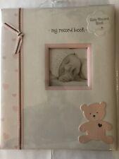 Lil Peach Pearhead Baby Album Book First 5 Years -Pink Bear