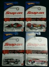 2006 Hot Wheels Snap On Special Edition - Set Of 4 Complete - NIP