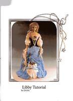 1:12 scale Miniature Doll Art Tutorials By DANA Pattern//Clothes//Hair JEZEBELLE