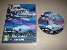 Simulatore Aeroporto ~ Gioco per PC Windows XP/Vista/7 PC CD-ROM