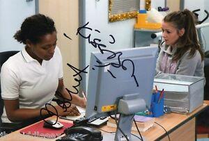 Krissi Bohn & Brooke Vincent - Coronation St  - Signed 12x8 Photo - AFTAL