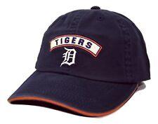 Detroit Tigers American Needle Mikey MLB Blue Adjustable Baseball Cap Dad Hat