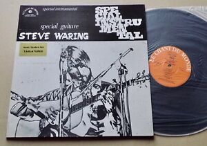 Steve WARING Special guitare LP+Tablatures CHANT DU MONDE LDX 74564 (1975) NM