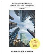 Financial Institutions Management: A Risk Management Approach by Anthony Saunder