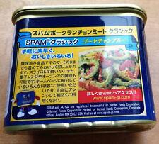 SPAM Hormel Foods International Japan Japanese Label 100% Pork 12oz