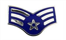 US Air Force E4 Senior Airman Lapel / Hat Pin USAF New