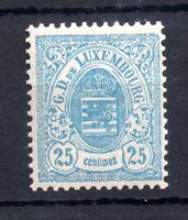 Luxembourg 1880 25c mint MNH #46 CV £200+ WS11674