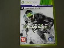 Splinter CELL BLACKLIST XBOX 360 UK PAL ** Kostenlose UK Versand **