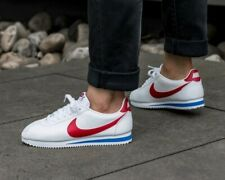 "BNWB & Genuine Nike ® Classic Cortez Leather ""Forest Gump"" Trainers UK Size 8"