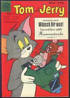 Tom und Jerry Nr.29 von 1959 - TOP Z1 ORIGINAL ERSTAUFLAGE COMICHEFT Moewig