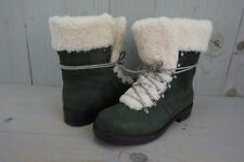 UGG FRASER 1018896 SLATE LEATHER SHEEPSKIN HIKING SNOW WINTER BOOTS US 10  IB