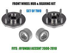 Front Wheel Hub & Bearing Kit Assembly SPK604 510055   SET OF TWO