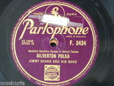 78rpm JIMMY SHAND silverton polka / looking for a partner , two step