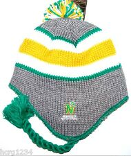 MINNESOTA NORTH STARS CCM VINTAGE NHL POM POM KNIT HAT/ BEANIE/TOQUE CHULLO