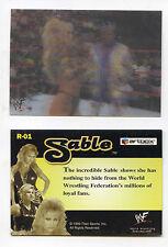 Miss SABLE Magic Motion MOVING Insert card 1999 Artbox WWF Lenticular WRESTLING