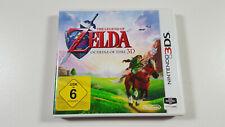 The Legend of Zelda: Ocarina of Time 3D Nintendo 3DS Spiel PAL OVP CIB NM / MINT