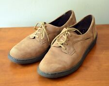 Mephisto Women's 10 Suede Leather Lace-Up Oxford Brown Air-Jet