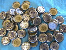 50 SNAPPLE TEA TRIVIA BOTTLE CAPS new silver March-Apr 2018 collect,trade,create