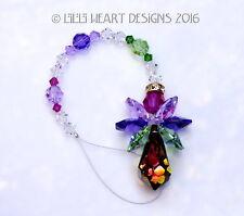 m/w Swarovski Rare Vitrail Medium Colorful Angel Suncatcher Lilli Heart Designs