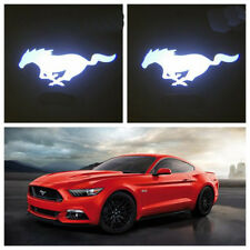 2X 3D Horse Ghost Shadow Car Door Logo Led Laser Projector Light for Mustang