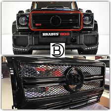 BRABUS Style G63/65 W463 ALL BLACK Grille Complete