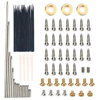Alto Sax Repair Parts Screws+Sax Springs Tools Kit DIY Sax Maintenance Tool Kit