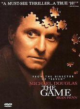 The Game (DVD, 1998) Michael Douglas Thrilling Mind Game