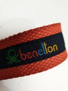 United Colors Of Benetton Vintage Women's Belt Size 30 inch