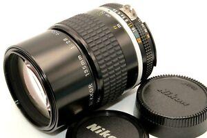 Excellent+++++ Nikon Ai-S AiS NIKKOR 135mm f/2.8 Portrait Telephoto Lens Japan