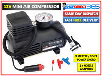 12V Powerful Heavy Duty Electric Air Compressor 250PSI Car Tyre Inflator Pump UK