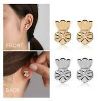 2 Pairs Magic Earring Lifters Adjustable Earring Backs Stud Earring Accessories