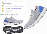 ✅ADIDAS ULTRABOOST X WOMENS RUNNING SPORT WALKING SHOES GYM GREY/BLUE BB6155 NIB
