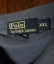 POLO by RALPH LAUREN --- MEN'S SIZE XXL --- SHORT SLEEVE POLO SHIRT